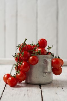 cherry tomatoes | Flickr: Intercambio de fotos