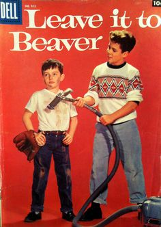 Leave It to Beaver Dell Comic Book