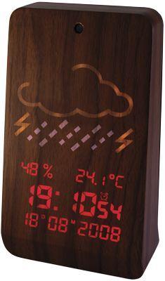 A nice #idea for your #desktop #alarmclock #wood