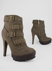 39163bf19 Booties - Lace-Up Ankle Boots