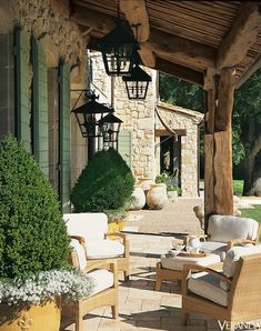 Ginny Magher in Provence The Atlanta-based designer's Provence farmhouse. Image originally appeared in the September 2007 issue of Veranda.