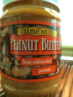 You can haz peanut butter on detox!!  Blogging about Small Switches: Natural peanut butter | The Skinny On Manhattan