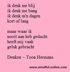 Denken door Toon Hermans