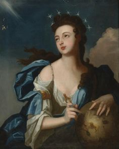 Allegorical Portrait of Urania, Muse of Astronomy by Louis Tocqué.jpg