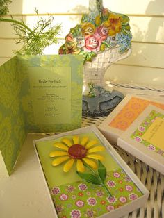 Just plain fun... Embellish handmade cards, invitations or gift wrapping with funky vintage pins or earrings!!