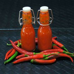Hot Sauce-Cayenne Peppers