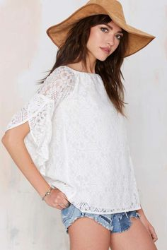 Raina Lace Blouse - Shirts + Blouses | Clothes | All | Bohemian Rhapsody