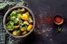 Grandma's Gujarati Style Eggplant and Potato Curry (Ringan Batata nu Shaak) - Indiaphile