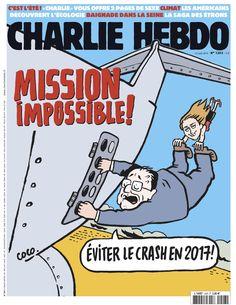 Charlie Hebdo - # 1203 - 12 Août 2015 - Couverture : Coco