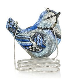 Bluebird crystal purse - Judith leiber