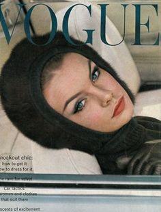 Jean Shrimpton British Vogue October 1962