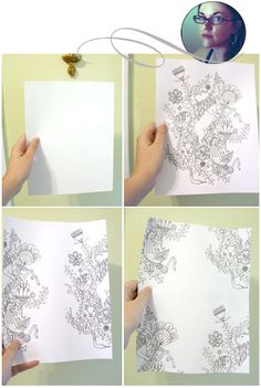 A great tutorial on how to make a repeat pattern by Julia Rothman. (via Design*Sponge.) Be sure to check out Nicole J's experiment with handrawn patterns. Illustration Styles, Illustrations, Project Ideas, Art Projects, Henna Mandala, Graphic Design Pattern, Zentangle Patterns, Mark Making, Drawing Tutorials