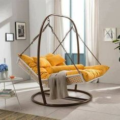 DIY Camping hammock ideas Pictures Balcony hammock Garden stand Indoor hammock b. - DIY Camping hammock ideas Pictures Balcony hammock Garden stand Indoor hammock bed Macrame Couple O - Hammock In Bedroom, Indoor Hammock Bed, Backyard Hammock, Portable Hammock, Hammock Swing Chair, Swinging Chair, Eno Hammock, Hammock Beach, Camping Hammock