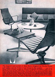 Herman Miller Ad, 1960