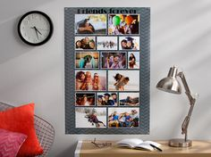 Kodak Moments:  - Make a photo collage for your BFF to take to college