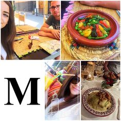 M is for Moroccan Food! Who goes to Morocco and doesn't try the local cuisine?! 😋 from eating out ya fancy restaurants, to trying local bites to eat in the busy markets, we definitely fell in love with all the food Morocco had to offer! #AlphabetDating #AlphabetDates