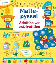 Adding and Subtracting Activity Book (Usborne Math Sticker Activity Books) Times Tables Practice, Subtraction Activities, Subtraction Kindergarten, Math Books, Children's Books, Picture Puzzles, Maths Puzzles, Adding And Subtracting, Book Activities