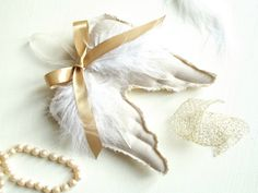 DIY - Angel Wings Ornaments - Ma Petite Maison