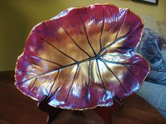 Concrete Leaf Casting by ConcreteImpressions on Etsy, $37.00