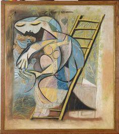 * Femme aux pigeons 1930 - Picasso