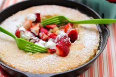 Gooey Butter Strawberry Shortcake > Willow Bird Baking