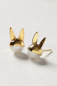 Bunny Pearl Earrings