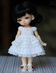 PRE-ORDER  white princess dress for pukifee and lati by Ulanna