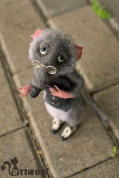 грызуны - Авторские игрушки Натальи Кузнецовой