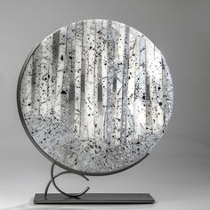 White Forest by Varda Avnisan: Art Glass Sculpture available at www.artfulhome.com