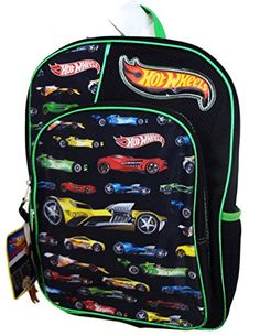 Mattel HOT Wheels 16 Inch Full Size Backpack for Kids Come with Bonus Car Toy - http://handbags.kindle-free-books.com/mattel-hot-wheels-16-inch-full-size-backpack-for-kids-come-with-bonus-car-toy/