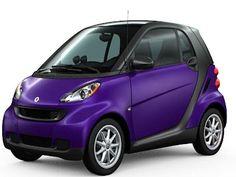 Truly a smart car...    http://www.america-smart-car-guide.com/image-files/gallery10-purple-smart-car.jpg