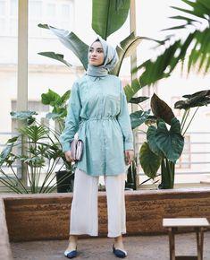 New fashion modest summer shirts ideas Hijab Casual, Stylish Hijab, Modern Hijab, Hijab Chic, Muslim Fashion, Modest Fashion, Hijab Fashion, Modest Summer Outfits, Outfit Look