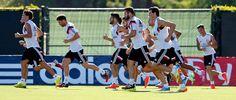 El Real Madrid completó su primer día de trabajo en las instalaciones de UCLA