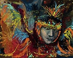 Dancing in Color by Jodi Monahan in the FASO Daily Art Show www.jodimonahanartistry.com