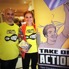 Change the World through the power of Cinema . Apply to be a @TakeOneAction  #Volunteer before the 25th of April