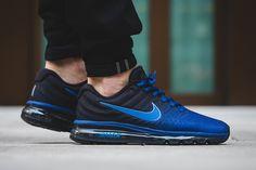 "On Foot: Nike Air Max 2017 ""Deep Royal Blue & Black"" - EU Kicks Sneaker Magazine"