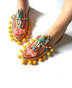 Chiara slippers by Anita Quansah London