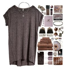 """Obsessions"" by ritaflagy ❤ liked on Polyvore featuring H&M, Essie, Zero Gravity, Bottega Veneta, Converse, Kelly Wearstler, MAC Cosmetics, Faber-Castell, Made Her Think and NARS Cosmetics"