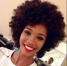 Natural hair Rules! - naturalafricangoddess:   Miss Martinique 2015