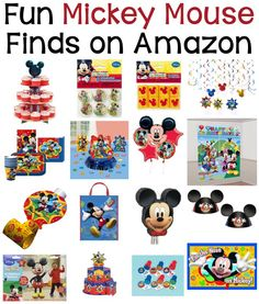 70+ Mickey Mouse DIY Birthday Party Ideas – About Family Crafts