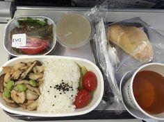 トランスアジア航空 の #ベジタリアン #機内食 。 #vegan #vegetarian #inflightmeal #transasiaairways #ヴィーガン #動物性不使用 #菜食 #復興航空 (桃園機場第一航廈)