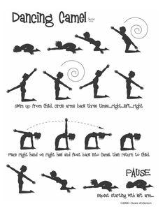 Dancing Camel Yoga Flow by Susie Anderson