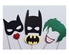 Super Hero Photo Booth Props  Super Hero by LetsGetDecorative