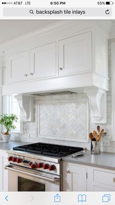 Soothing White and Gray Kitchen Remodel - transitional - Kitchen - Chicago - Normandy Remodeling Kitchen Tile, Kitchen Redo, New Kitchen, Kitchen Countertops, Kitchen Ideas, Traditional Kitchen Backsplash, Kitchen Cabinetry, Quartz Countertops, Ranch Kitchen