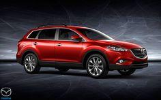 2016 Mazda CX 9 Red Wallpaper