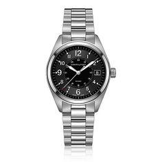 Hamilton Khaki Field Stainless Steel Watch