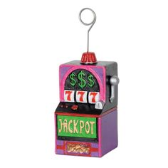 Give these Slot Machine Photo/Balloon Holders out as party favors at your Casino Party! You get 6 Each for this price. Casino Theme Parties, Casino Party, Casino Night, Party Themes, Themed Parties, Dinner Recipes For Kids, Kids Meals, Nascar, Martin Solveig