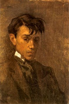 Pablo Picasso 'Self-portrait with uncombed hair', 1896