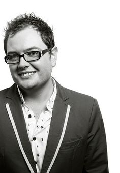 Alan Carr, comedian. Was born in Weymouth, Dorset, England -- I love him!