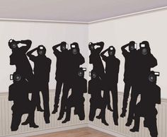 "Trippy Wall Decals make you the center of attention... anywhere in the room! Click through to our blog post: ""How to Host an Amazing Oscars Party in Your Apartment"" - Here's our hottest tips for making sure your Oscars Night party is one that your guests will all be talking about! #oscars #party #planning"